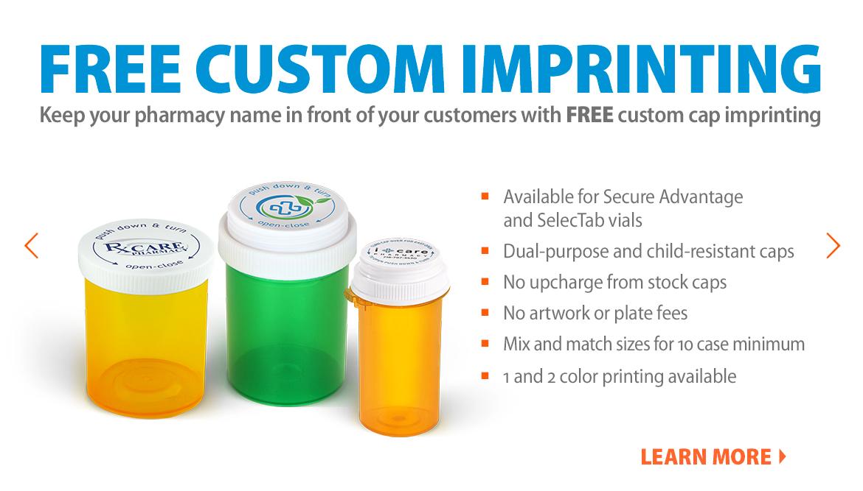 Free Custom Imprinting